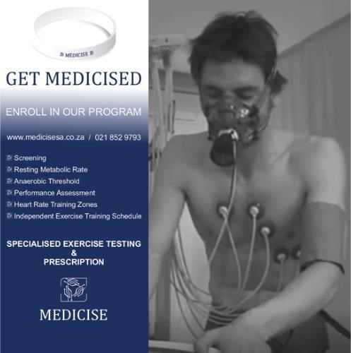 Specialised exercise testing and prescription - Medicise SA